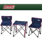 Coleman(コールマン) テーブル・チェアセット コンパクトチェアテーブルセット ネイビー 2000011513