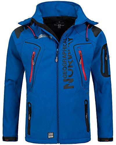Cobalto Geographical Norway Hombre Para Chaqueta Azul xw1qwpBF