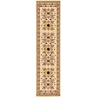 Unique Loom Heriz Collection Ivory 2 x 8 Runner Area Rug (2 2 x 8 2)