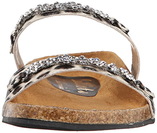 Princess Callisto Women's Dress Leopard Sandal 6Sfq5wASnx
