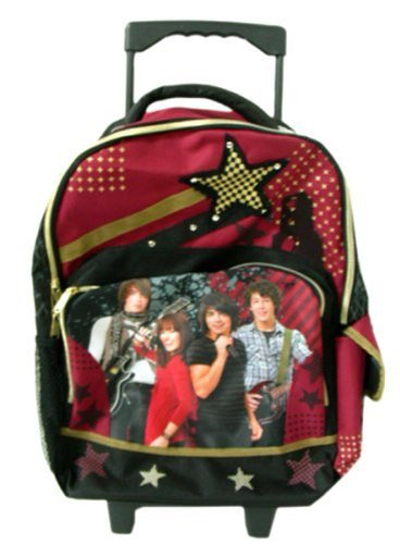 Disney Camp Rock Luggage - Full size Rolling Backpack (Rock Brothers Jonas)