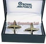 RAF Hurricane Aircraft Plane Cufflinks