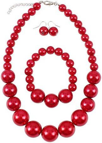 KOSMOS LI Simulated Statement Necklace Bracelet product image