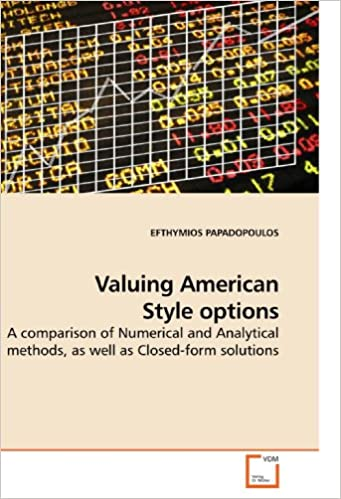 Valuing American Style options: A comparison of Numerical and Analytical methods, as well as Closed-form solutions