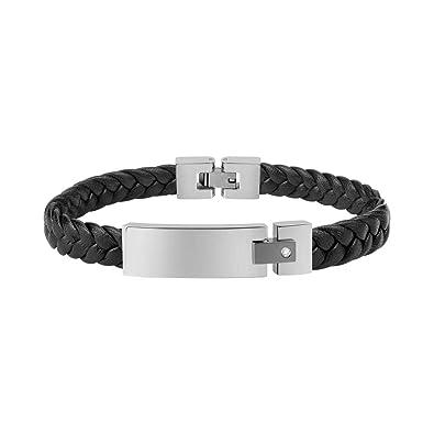 HommeCollection Bracelet PelleAcier MoodyEn Morellato Pour PkXN8nw0O