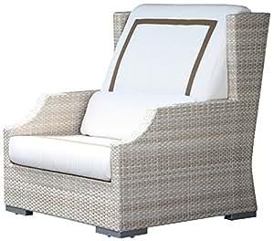 Hospitality Rattan Dann Foley Malibu Club Chair with Cushions