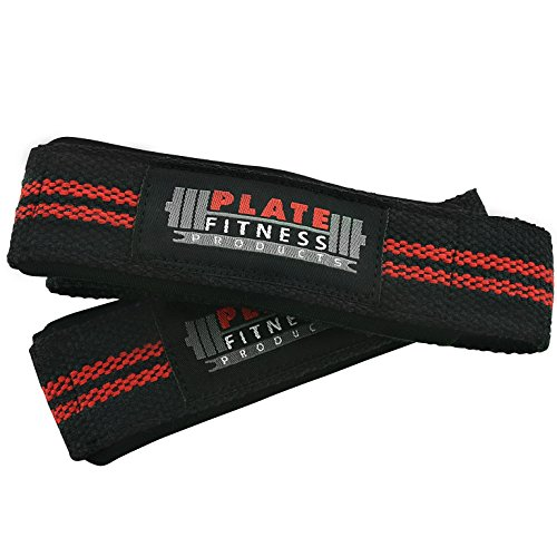 lifting-wrist-straps-by-plate-fitness-products-use-for-weightlifting-powerlifting-bodybuilding-cross