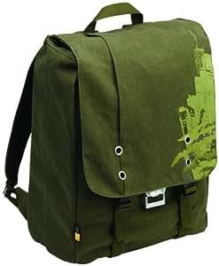 Case Logic SNBP-17 17-Inch Canvas Lifestyle Backpack (Green)