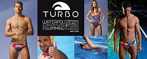 Turbo - Bañador Mujer BANANO Tira estrecha doble capa (S)