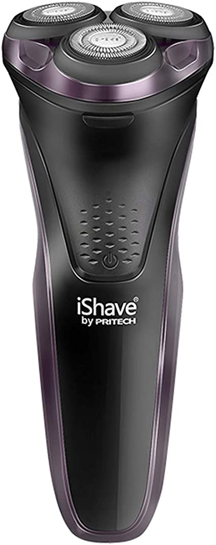 PRITECH Electric USB Rechargeable Rotary Shavers Mens Waterproof ...
