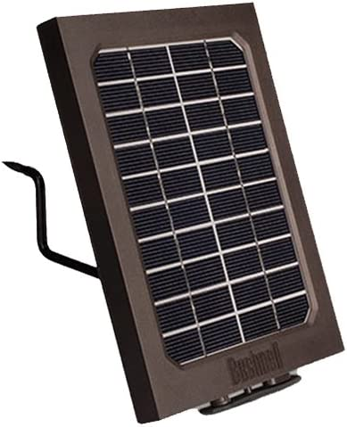 Amazon Com Bushnell 119756c Trophy Cam Aggressor Solar Panel Clam 5l Brown Sports Outdoors