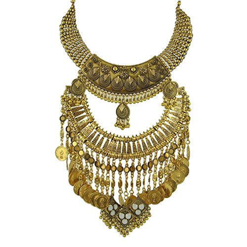 zhenhui-bohemia-gold-tone-long-boho-statement-necklace-with-coin-tassel-for-women