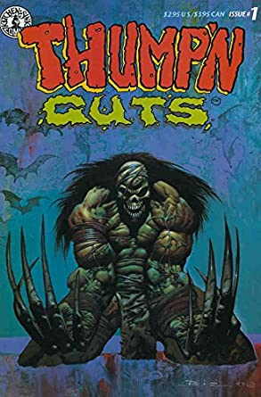 Amazon.com: Thump\'n Guts #1 VF ; Kitchen Sink comic book ...