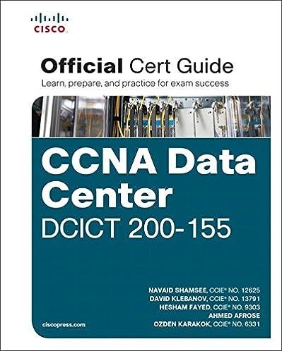 ccna data center dcict 200 155 official cert guide certification rh amazon com CCNA Certification Exams 2018 Cisco CCNA Certification 2015