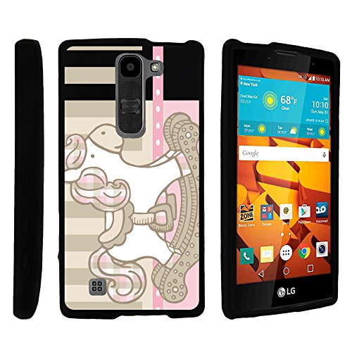 LG Volt II Phone Case, Cell Phone Case Hard Cover with Cute Design Patterns for LG Volt 2 LS751 by MINITURTLE - Wooden Horse Toy ()