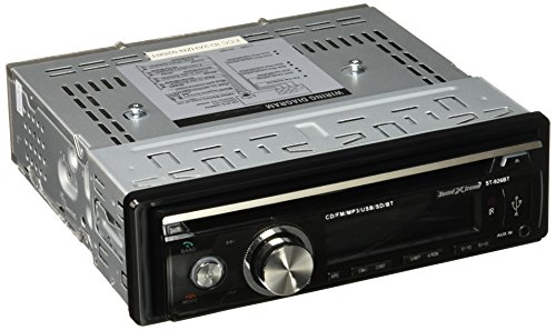 SoundXtreme ST-926BT in-Dash CD Receiver with Bluetooth and CD/FM/USB/AUX/SD
