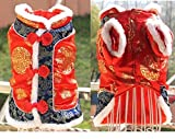 REIENE Exclusive! Handmade Dog Cat Traditional Chinese 2Leg Transformation Outfit SUPER Cute and keep your Dog Cat Warm and Fashion! Buy Any 2 Items and GET FREE REIENE Exclusive GIFT Limited Time Offer!
