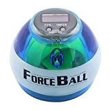 Wrist Trainer LED Wrist Ball Powerball Workout Toy Gyroscopic Ball - Arm Strengthener -- Wrist & Forearms Exerciser