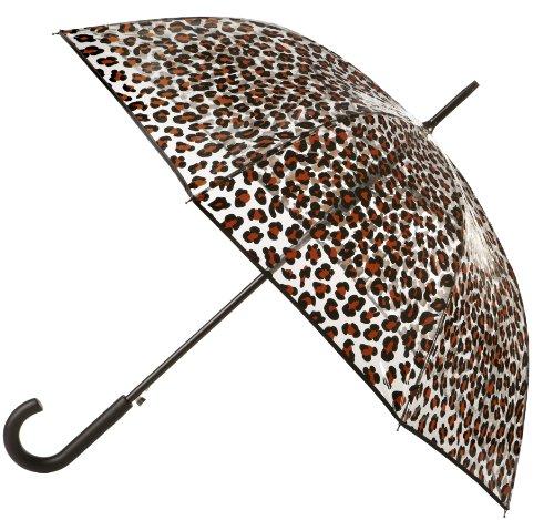 Totes Womens Animal Umbrella Leopard