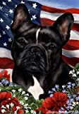 French Bulldog Black/White – Best of Breed Patriotic Large Flags Review