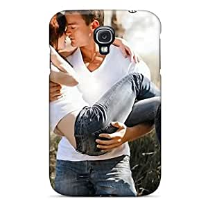 New Cute Couple Tpu Skin Case Compatible With Galaxy S4