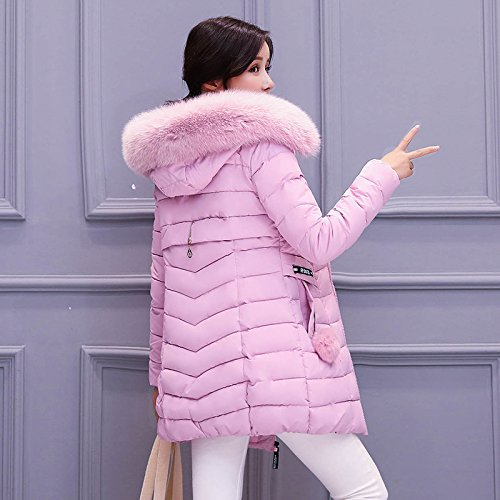 Down Cultivation The Thickening In Self Pink Fur Long Large Collar Winter Cotton Jacket1312531 Paragraph Warm Autumn Of And Jacket Xuanku pqOIB