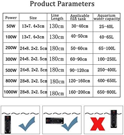 アクアリウムの魚飼育用の水槽のLEDの温度表示、魚飼育用の水ヒーターおよび吸引のコップが付いている調節可能な温度が付いている水中ヒーター