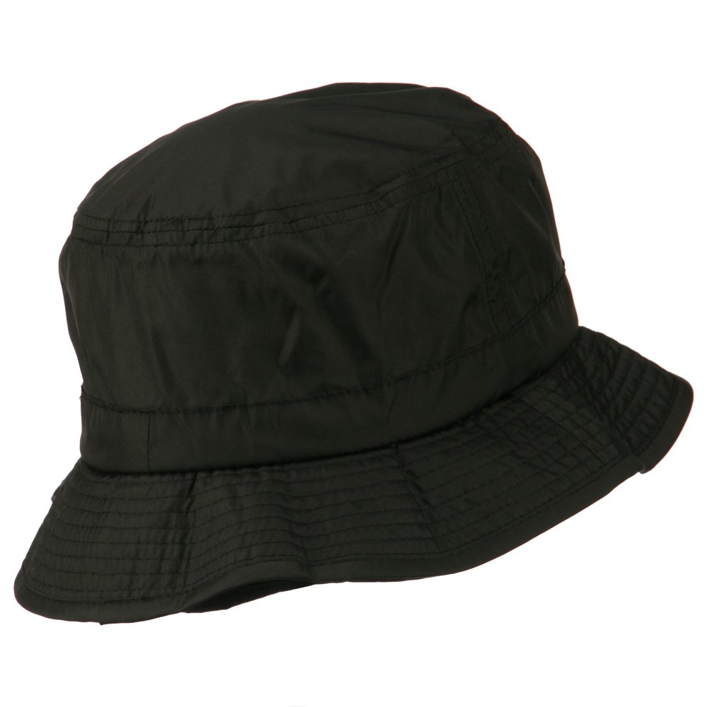 Mens UV 50+ Fleece Lined Bucket Hat - Black M-L at Amazon Men s Clothing  store  7606fdf5380