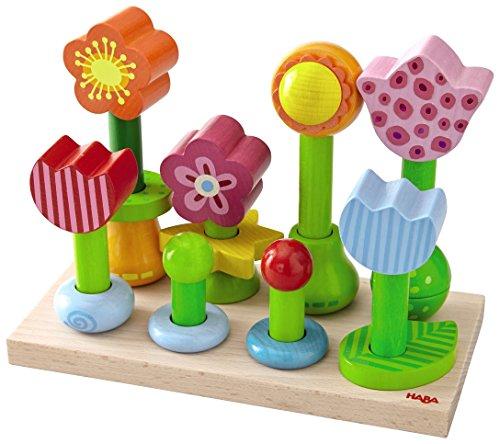 HABA Little Flower Garden Pegging