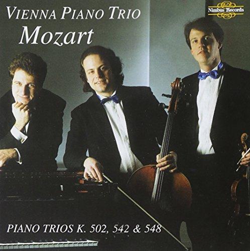 Mozart: Piano Trios, K 502, 542, 548