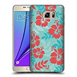 Head Case Designs Hibiscus Hawaiian Patterns Soft Gel Back Case Cover for Samsung Galaxy S4 I9500