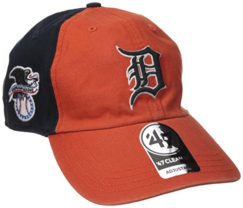 '47 MLB Detroit Tigers Flagstaff Clean Up Hat, One Size, Navy