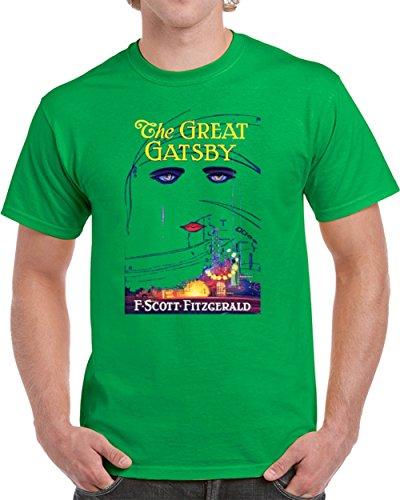 Great Gatsby Movie Clothes (The Great Gatsby T Shirt Unisex Novelty Glam Fashion Gift Movie Tee Top L Irish)