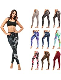 Womens Buttery Soft Printed Leggings – One/Plus High Waisted Fashion Pants 20+ Designs