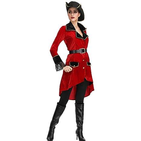 Amazon.com: Goutique Womens Sexy Buccaneer Pirate Costume ...