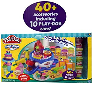 Play Doh Sweet Shoppe Cake Ice Cream Confections