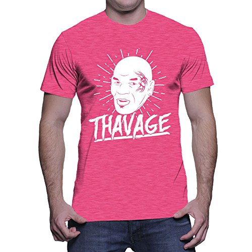 Men's Thavage T-shirt (Pink, X-Large)