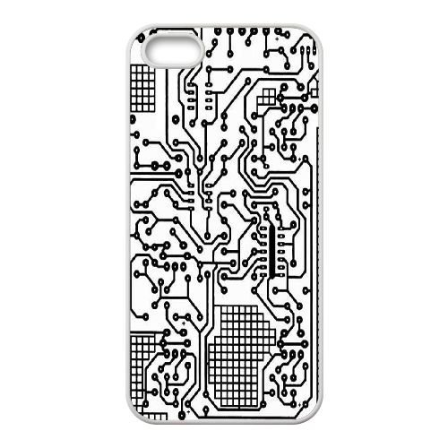 Amazon Com Diy Circuit Board Back Case For Iphone 5iphone 5s