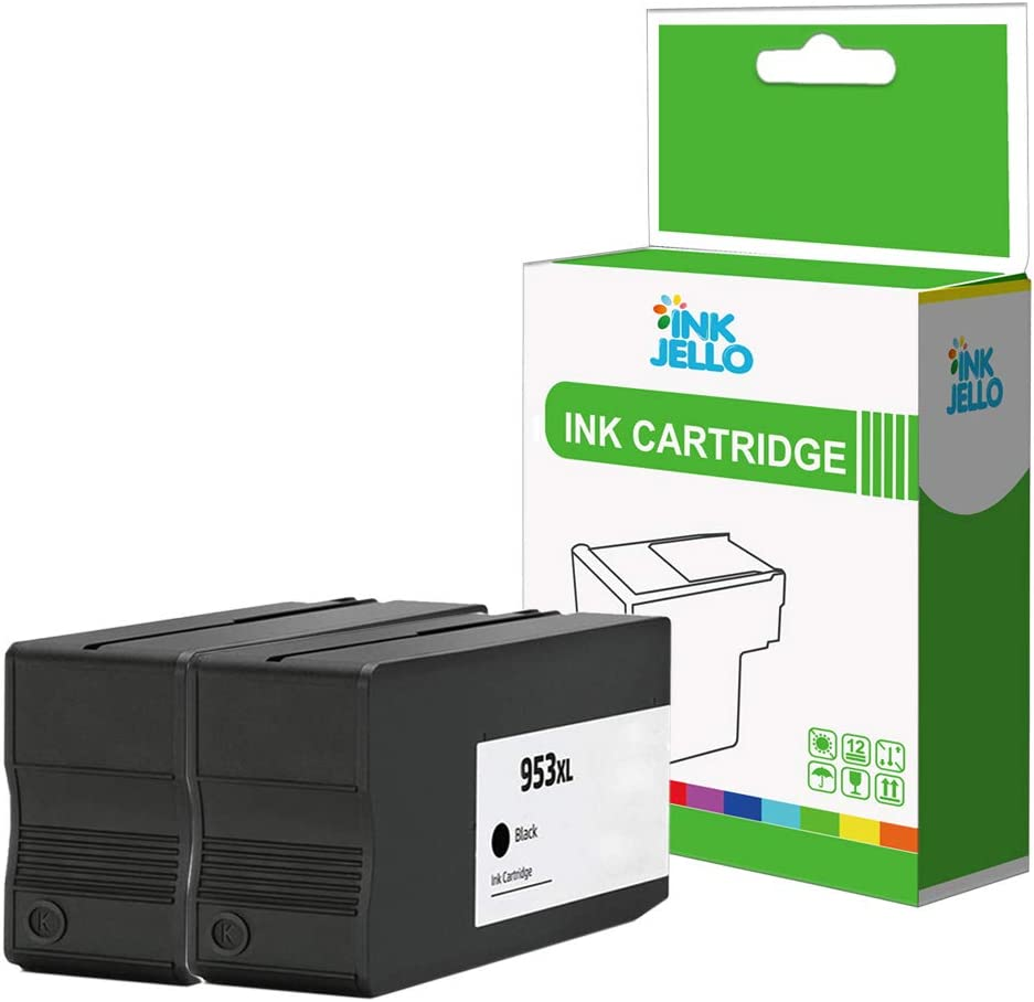 InkJello Compatible Tinta Cartucho Reemplazo para HP Officejet Pro ...