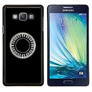 For Samsung Galaxy A7 A7000 Case , Piano 360 Keys- Diseño Patrón Teléfono Caso Cubierta Case Bumper Duro Protección Case Cover Funda