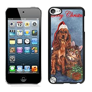 2014 New Style Christmas Dog and Cat Black Diy For SamSung Galaxy S4 Case Cover 3