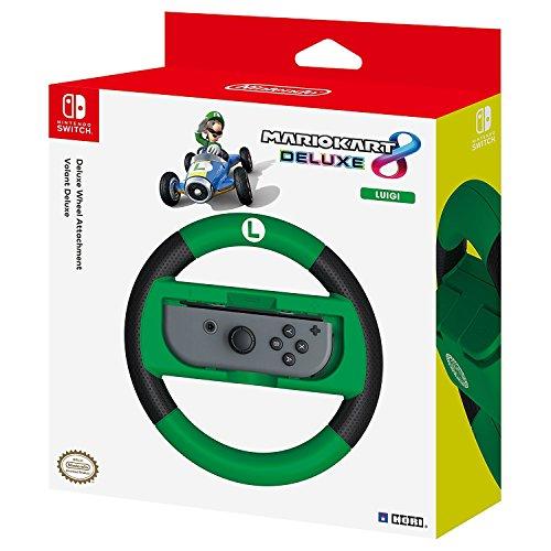 Full Racing Games (HORI Nintendo Switch Mario Kart 8 Deluxe Wheel (Luigi Version) Officially Licensed By Nintendo - Nintendo Switch)