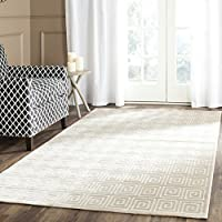 Safavieh Paradise Collection PAR637D Cream Viscose Area Rug (3 x 5)