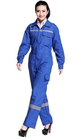 e14cd5fb68b Amazon.com  XinAndy Women s High Visibility Work Coverall  Clothing