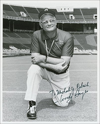 Woody Hayes signed autographed reprint 8 x 10 photo Ohio State (Signed Hayes Photo)