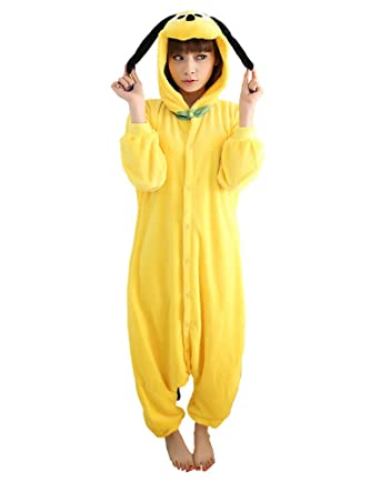 UDreamTime Fiesta de disfraces de Halloween Pijamas Kigurumi Cosplay Pijamas Pluto S