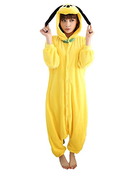 UDreamTime Fiesta de disfraces de Halloween Pijamas Kigurumi Cosplay Pijamas Pluto M
