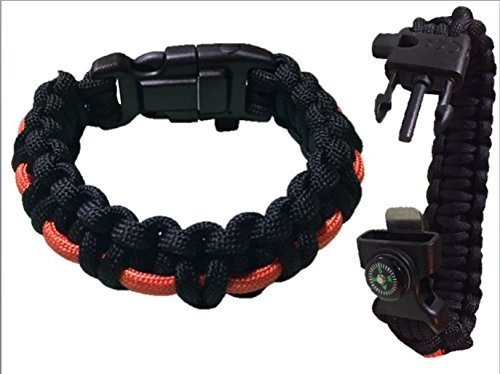 Paracord Bracelet 7 inch With.