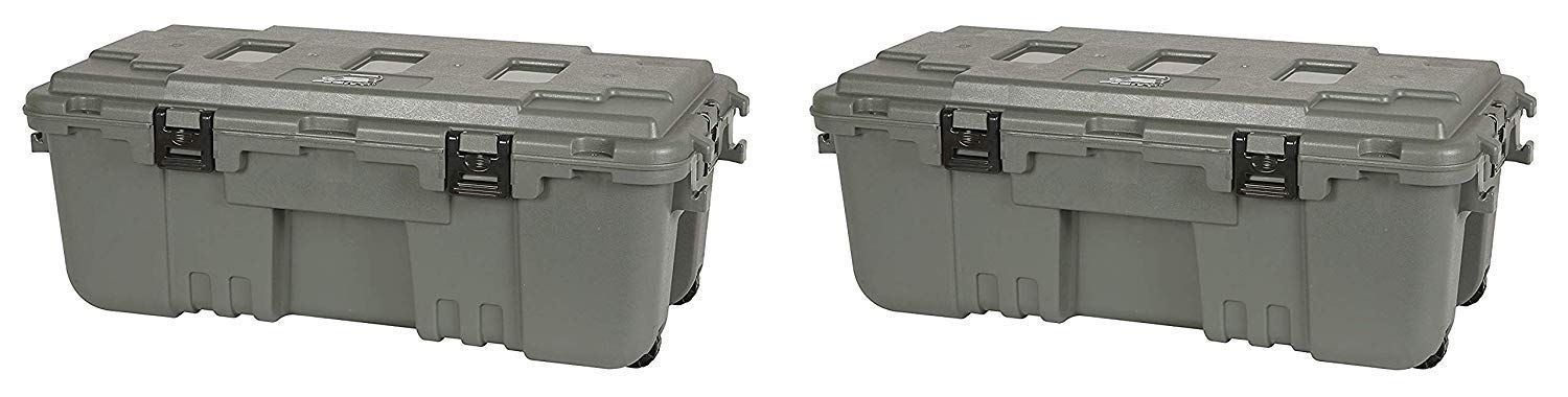 Plano 1819 Storage Trunk (Pack of 2) by Plano