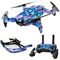 MightySkins Skin for DJI Mavic Air Drone - Purple Kaleidoscope | Max Combo Protective, Durable, and Unique Vinyl Decal wrap cover | Easy To Apply, Remove, and Change Styles | Made in the USA